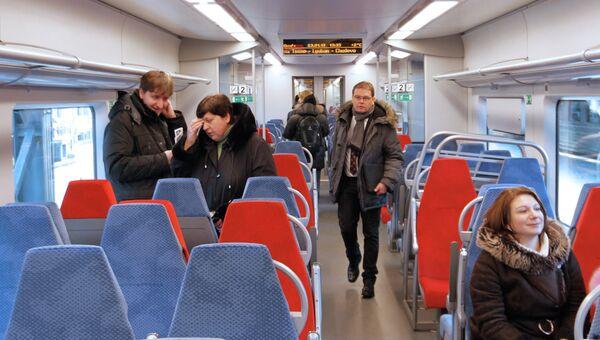 Скорый поезд Ласточка отправился в первый рейс