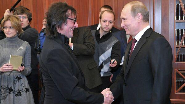 В.Путин встретился с Ю.Башметом