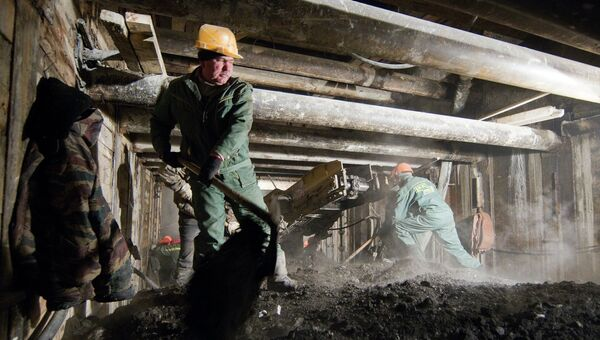 Строительство Алабяно-Балтийского тоннеля, архивное фото