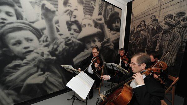Открытие обновленной российская экспозиции в музее Освенцима