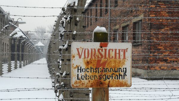 Музей Освенцима. Архивное фото