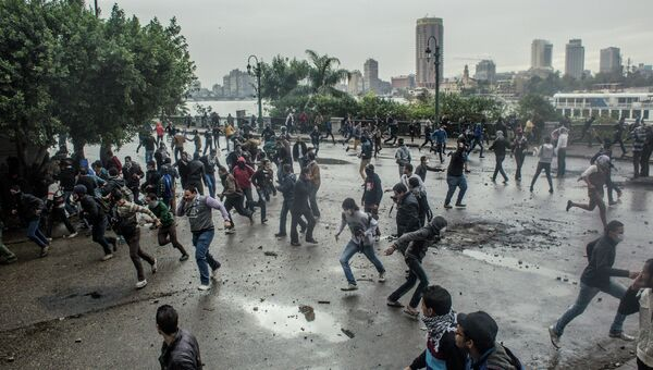 Беспорядки на улицах Каира