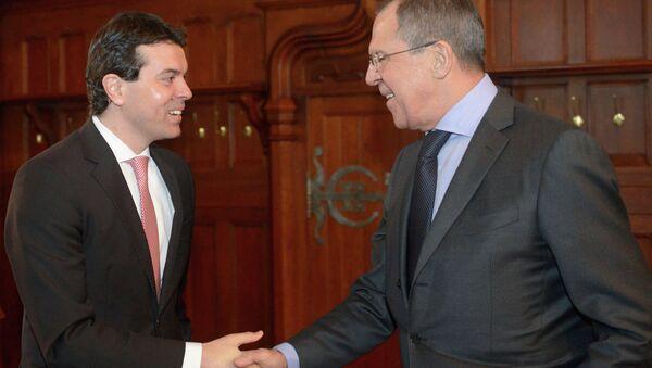 Встреча глав МИД России и Македонии