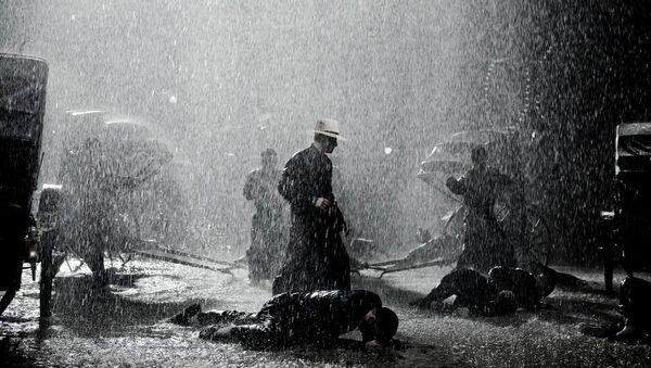 Кадр из фильма Великий мастер. Режиссер – Вонг Кар-Вай