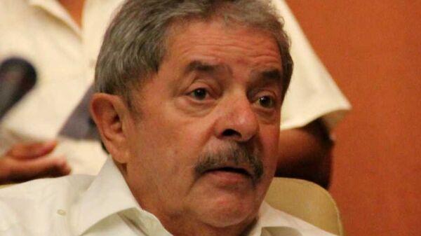 Экс-президент Бразилии Луис Инасиу Лула да Силва. Архивное фото