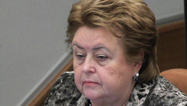 Зинаида Драгункина. Архивное фото