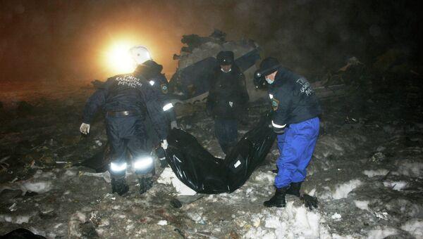 Крушение самолета CRJ-200 в Казахстане