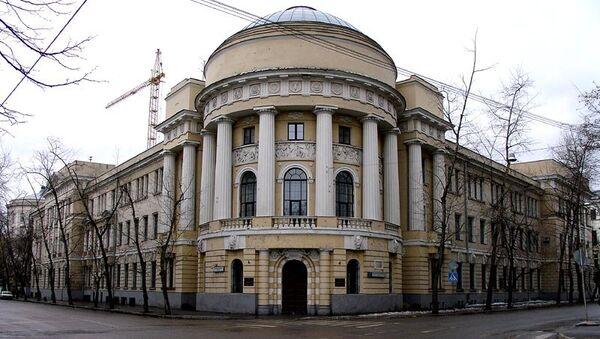 Главный корпус МПГУ (Малая Пироговская, 1),