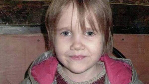 Фотография восьмилетней Василисы Галицыной. Архив