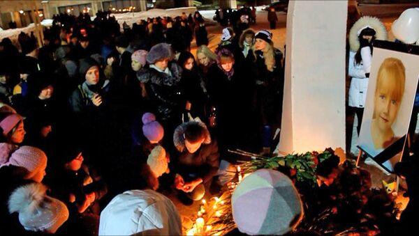 В Набережных Челнах горожане устроили вечер памяти убитой второклассницы