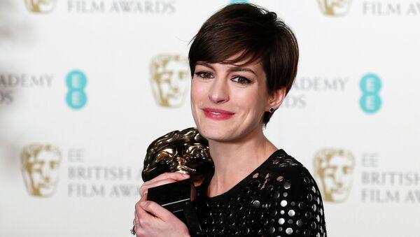 Энн Хэтэуэй стала лауреатом награды BAFTA