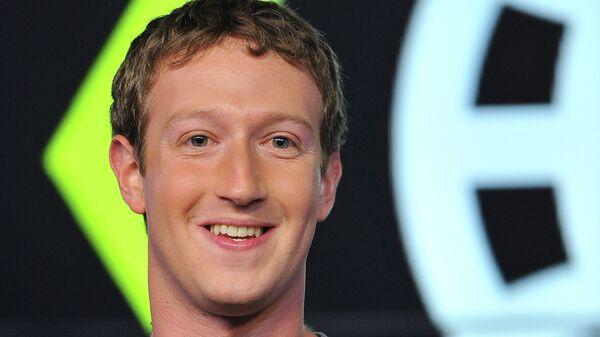 Основатель и гендиректор социальной сети Facebook Марк Цукерберг. Архив
