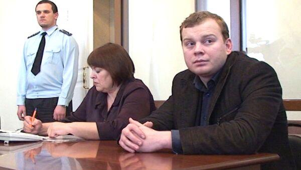 Подозреваемый в убийстве кардиохирурга Павел Бровкин в суде. Архивное фото