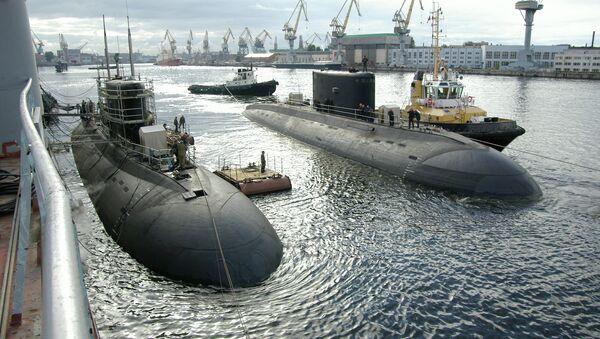 Подводная лодка проекта 636. Архивное фото