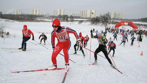 Лыжная гонка «Спорт во благо» в помощь детям с синдромом Дауна