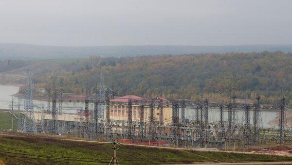 Строительство Загорской ГАЭС-2 в Московской области. Архив