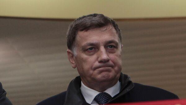 Председатель ЗакСа СПб Вячеслав Макаров. Архивное фото