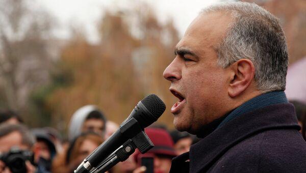 Лидер оппозиционной партии Наследие Раффи Ованнисян