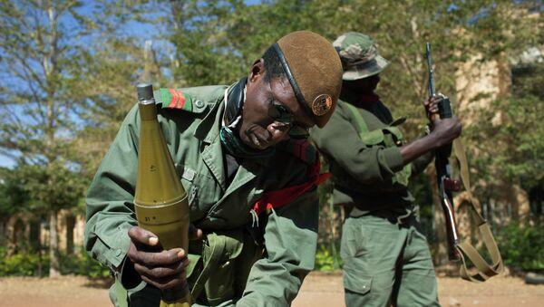 Малийские солдаты ведут бои с исламистами