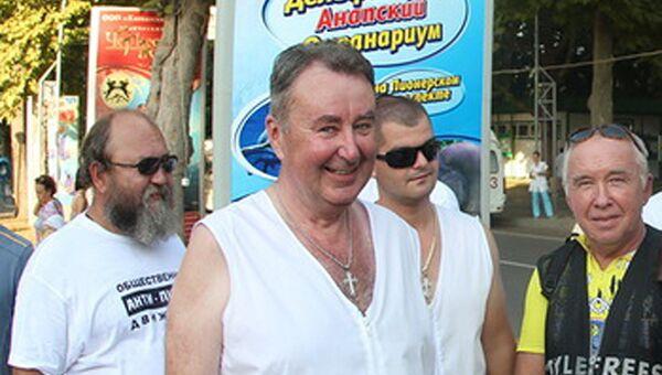 Директор Казачьего рынка Анапы, заместитель атамана Анапского казачьего войска Николай Нестеренко