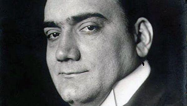 Итальянский оперный певец Энрико Карузо