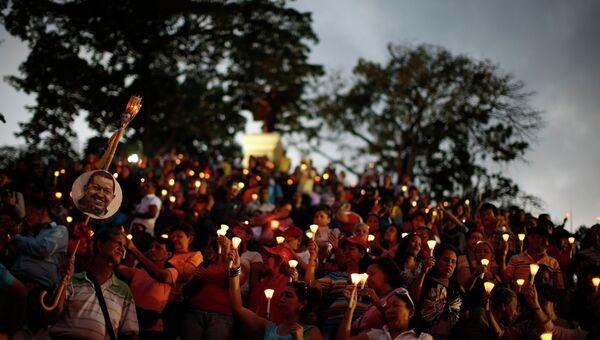 Венесуэльские индейцы помолились за Уго Чавеса