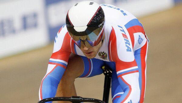 Велогонщик Денис Дмитриев. Архивное фото
