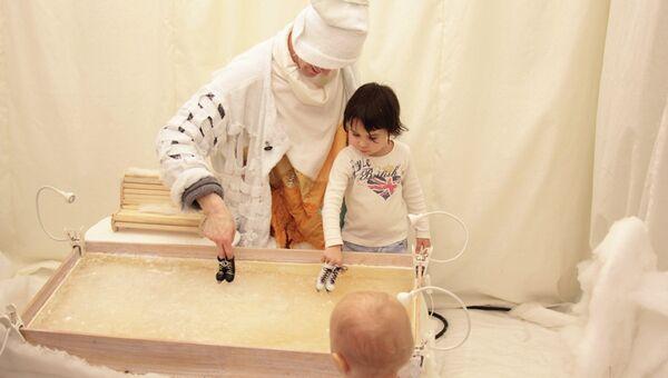 Детский спектакль Театр на ладошке. Зима в Московском театре кукол