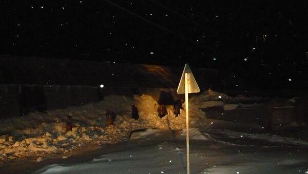 Семилетний ребенок погиб из-за схода снега с крыши в селе Парабель Томской области
