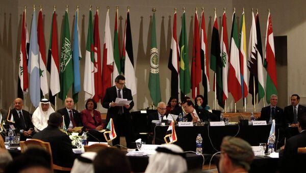 Встреча министров ЛАГ в Каире