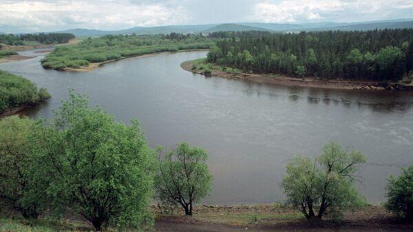 Район реки Обь рядом с местом ее пересечения с Транссибирской магистралью. Архивное фото