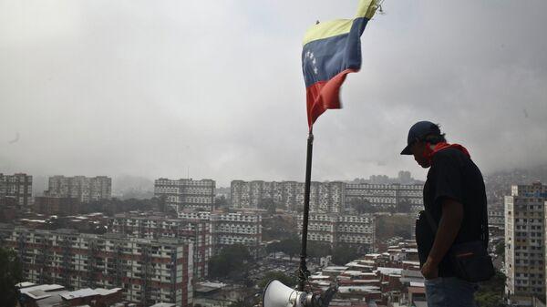 Ситуация в Каракасе. Архивное фото