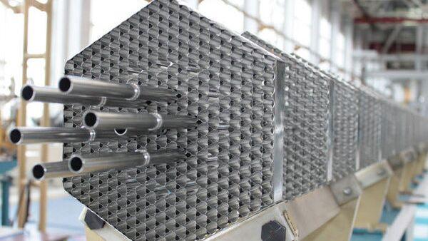 Установка для производства ТВЭЛов с плотным нитридным топливом на СХК, архивное фото