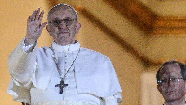 Папа римский Франциск. Архивное фото.