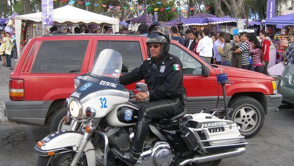 Мексиканская полиция. Архив