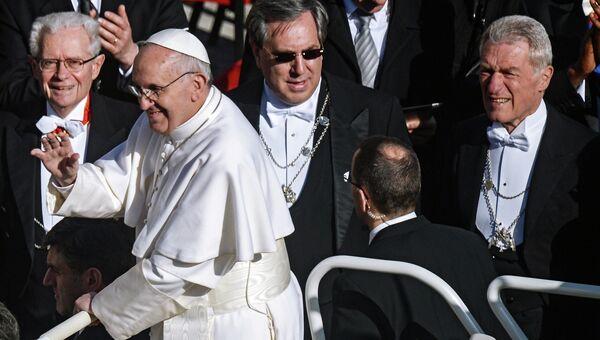 Папа Римский Франциск. Архив
