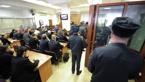 Вынесение приговора участникам массовой драки в Сагре. Архивное фото