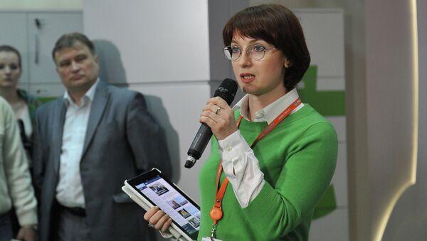 Заместитель директора Дирекции государственных интернет-проектов МИА Россия сегодня Ирина Кедровская