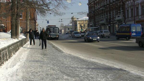 Тротуары в Томске