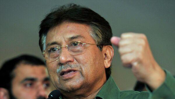 Бывший президент Пакистана генерал Первез Мушарраф. Архивное фото