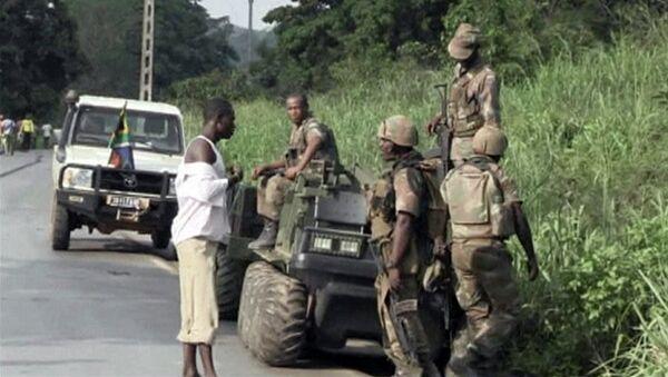 Южноафриканские солдаты