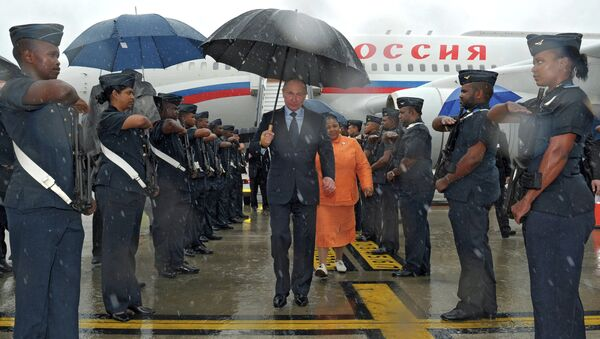 Визит Владимира Путина в Южно-Африканскую республику