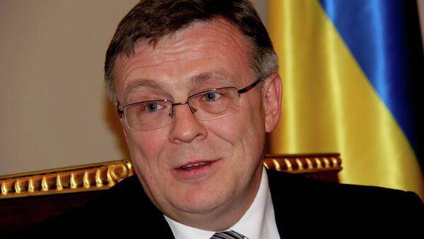 Министр иностранных дел Украины Леонид Кожара. Архивное фото
