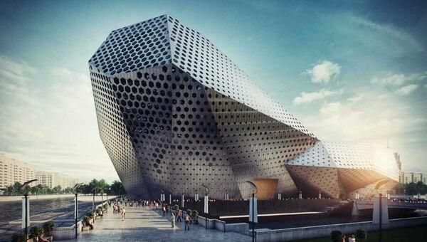 Проект театра песни Аллы Пугачевой архитектурного бюро Populous