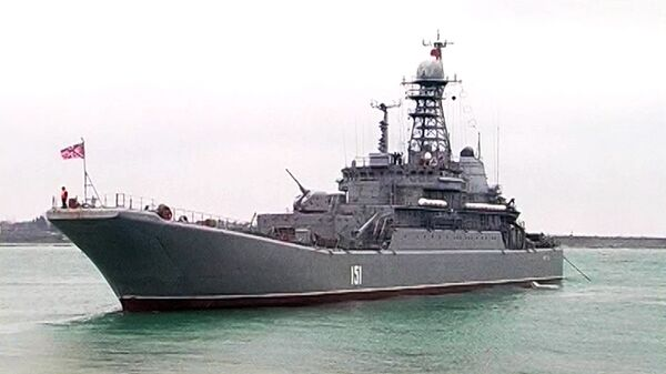 Крупномасштабные военные учения Черноморского флота РФ