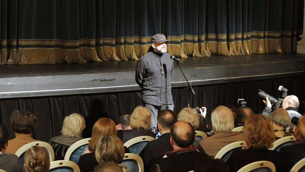 Андрей Могучий в БДТ имени Товстоногова. Архивное фото