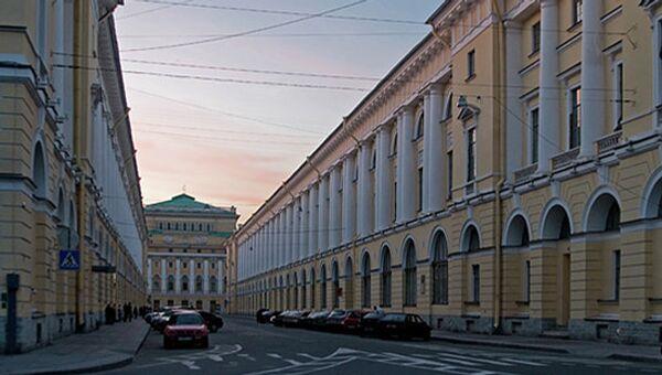 Академия русского балета имени А. Я. Вагановой. Архивное фото