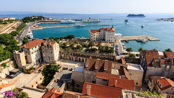 Виды Хорватии. Архивное фото