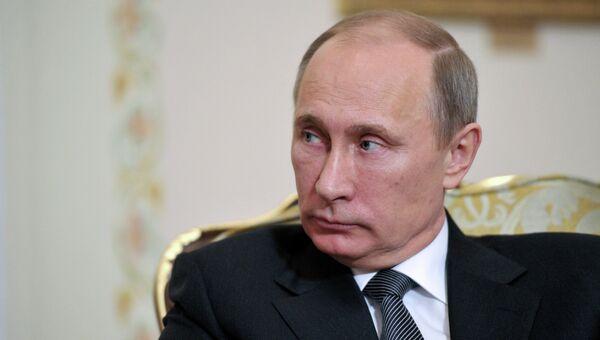 В.Путин провел встречу с главой Йемена Абдраббо Мансуром Хади. Архив