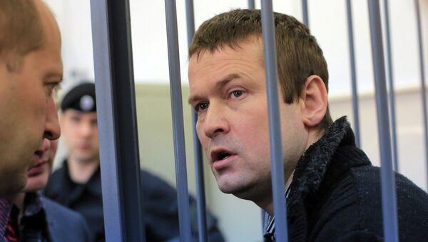 Оппозиционер Леонид Развозжаев в суде. Архивное фото